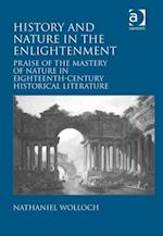 History and Nature in the Enlightenment af Nathaniel Wolloch