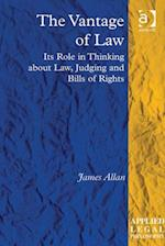 Vantage of Law af James Allan