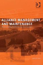 Alliance Management and Maintenance af John R. Deni