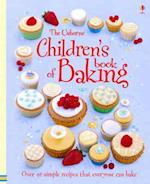 The Usborne Children's Book of Baking Spiral Edition (Usborne Cookbooks)
