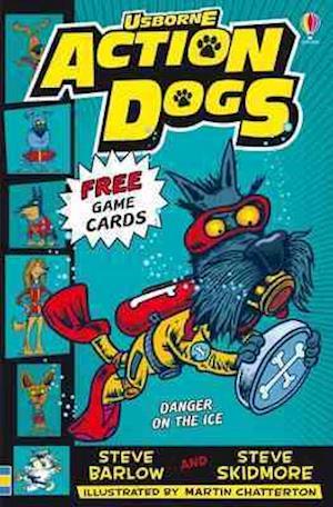 Bog, paperback Danger on the Ice! af Steve Barlow