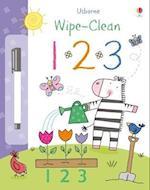 Wipe-Clean 123 (Usborne Wipe Clean Books)