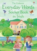 Everyday Words in Irish Sticker Book (Usborne Everyday Words)