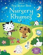 First Sticker Book Nursery Rhymes (Usborne First Sticker Books)