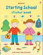 Starting School Sticker Book (Usborne Sticker Books)