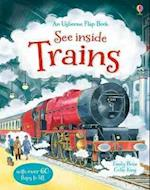 See Inside Trains (Usborne See Inside)