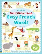 First Sticker Book (Usborne First Sticker Books)