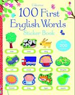 100 First English Words Sticker Book af Felicity Brooks