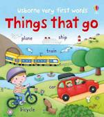 Things That Go (Usborne Very First Words)