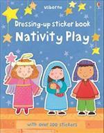 Dressing-Up Sticker Book Nativity Play (Usborne Getting Dressed Sticker Books)
