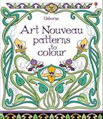 Art Nouveau Patterns to Colour (Patterns to Colour)