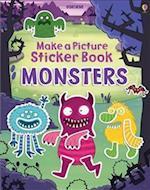 Make a Picture Sticker Book Monsters (Make a Picture Sticker Books)