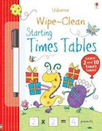 Wipe-Clean Starting Times Tables (Wipe-clean Books)