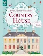Doll's House Sticker Book Country House (Dolls House Sticker Books)
