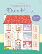 First Colouring Book Doll's House (First Colouring Books)