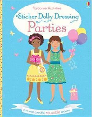 Sticker Dolly Dressing: Party Girls