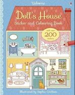 Doll's House Sticker and Colouring Book (First Colouring Books)