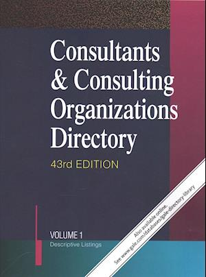 Bog, paperback Consultants & Consulting Organizations Directory