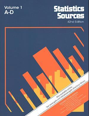 Bog, paperback Statistics Sources af Gale Cengage Learning