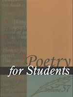 Poetry for Students (POETRY FOR STUDENTS, nr. 057)