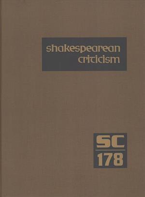 Bog, hardback Shakespearean Criticism