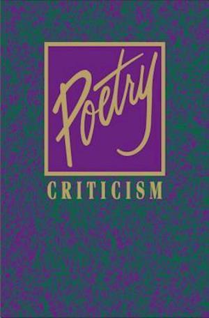 Bog, hardback Poetry Criticism af Gale