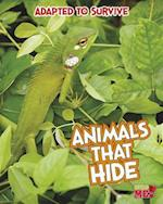 Animals That Hide (Read Me!)