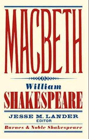 Bog, paperback Macbeth af Jesse M Lander, William Shakespeare
