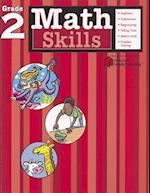 Math Skills: Grade 2 (Flash Kids Harcourt Family Learning) (Harcourt Family Learning)