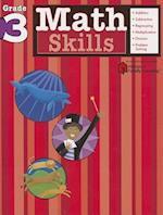 Math Skills: Grade 3 (Flash Kids Harcourt Family Learning)