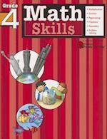 Math Skills: Grade 4 (Flash Kids Harcourt Family Learning) (Harcourt Family Learning)