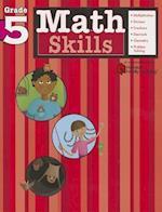 Math Skills: Grade 5 (Flash Kids Harcourt Family Learning) (Harcourt Family Learning)