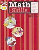 Math Skills: Grade 6 (Flash Kids Harcourt Family Learning) (Harcourt Family Learning)