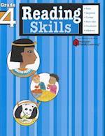Reading Skills: Grade 4 (Flash Kids Harcourt Family Learning) (Harcourt Family Learning)