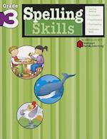 Spelling Skills: Grade 3 (Flash Kids Harcourt Family Learning) (Harcourt Family Learning)
