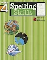 Spelling Skills: Grade 4 (Flash Kids Harcourt Family Learning) (Harcourt Family Learning)