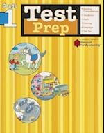 Test Prep: Grade 1 (Flash Kids Harcourt Family Learning) (Harcourt Family Learning)