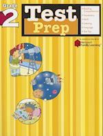 Test Prep: Grade 2 (Flash Kids Harcourt Family Learning) (Harcourt Family Learning)