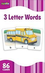 3 Letter Words (Flash Kids Flash Cards)