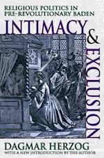 Intimacy and Exclusion af Dagmar Herzog