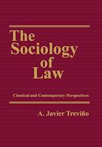 The Sociology of Law af A. Javier Trevino