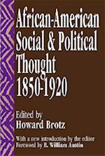 African-American Social and Political Thought (African American Studies)