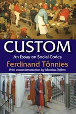 Custom af Ferdinand Tonnies