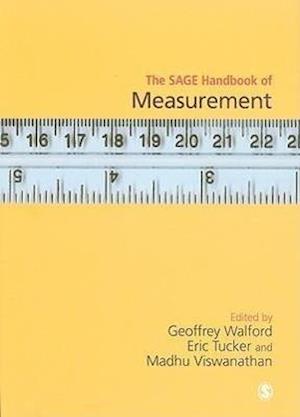 Bog, hardback The SAGE Handbook of Measurement af Geoffrey Walford, Madhu Viswanathan, Eric Tucker