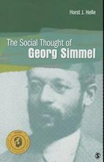 The Social Thought of Georg Simmel af Horst Jurgen Helle