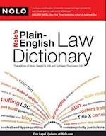 Nolo's Plain-English Law Dictionary af Kathleen Hill, Nolo Editors, Gerald Hill