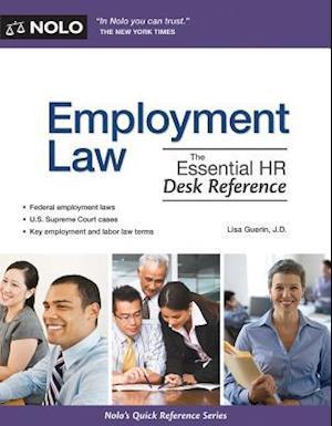 Employment Law Af Lisa Guerin Bog K 248 B Hos Saxo