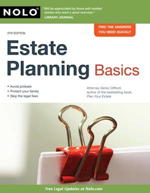 Estate Planning Basics af Denis Clifford