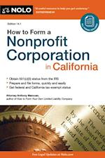 How to Form a Nonprofit Corporation in California af Anthony Mancuso