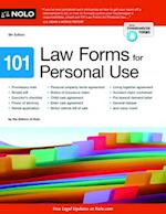 101 Law Forms for Personal Use af Nolo Editors